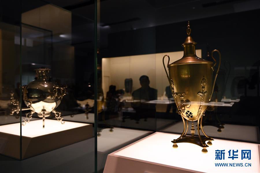 (文化)(1)丝绸之路国家博物馆文物精品展在京开幕